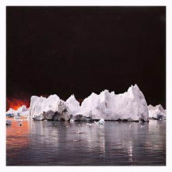 Fire-II-from-Iceberg-Series.-30-x-30-inches