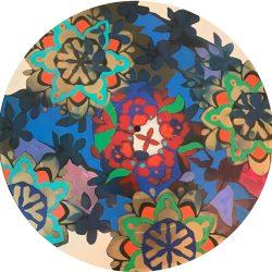 Saj_C_acryliconvinyl_coronoavirus100-In-Full-Bloom-2020