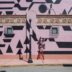 Weinberg_Michelle_IntricatePatternOverlay_mural