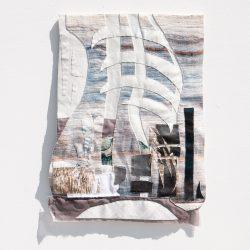 aneesa-shami_shadow-of_2019_reclaimed-fabric-applique_18inx20in
